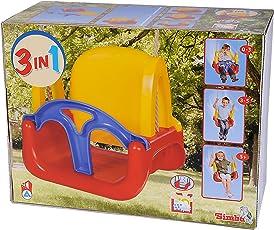 Green Garden 8306-0000, Altalena 3-in-1 Per Bambini Più Piccoli
