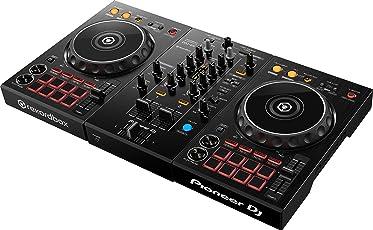 Pioneer DJ DDJ-400 dj controller a 2 canali con scheda audio integrata e rekorbox dj