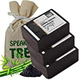 Speaking Tree Specially Formulated and Cold Processed Deodorizing Bamboo Charcoal Handmade Soap to Cleanse Skin Naturally and