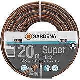 "Gardena Premium SuperFlex slang 13 mm (1/2"") 20 m: Tuinslang met Power Grip profiel, 35 bar barstdruk, zeer Flexibel, vormvas"