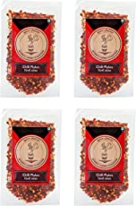 Spice Platter Chilli Flakes, 50 Grams (Pack of 4)