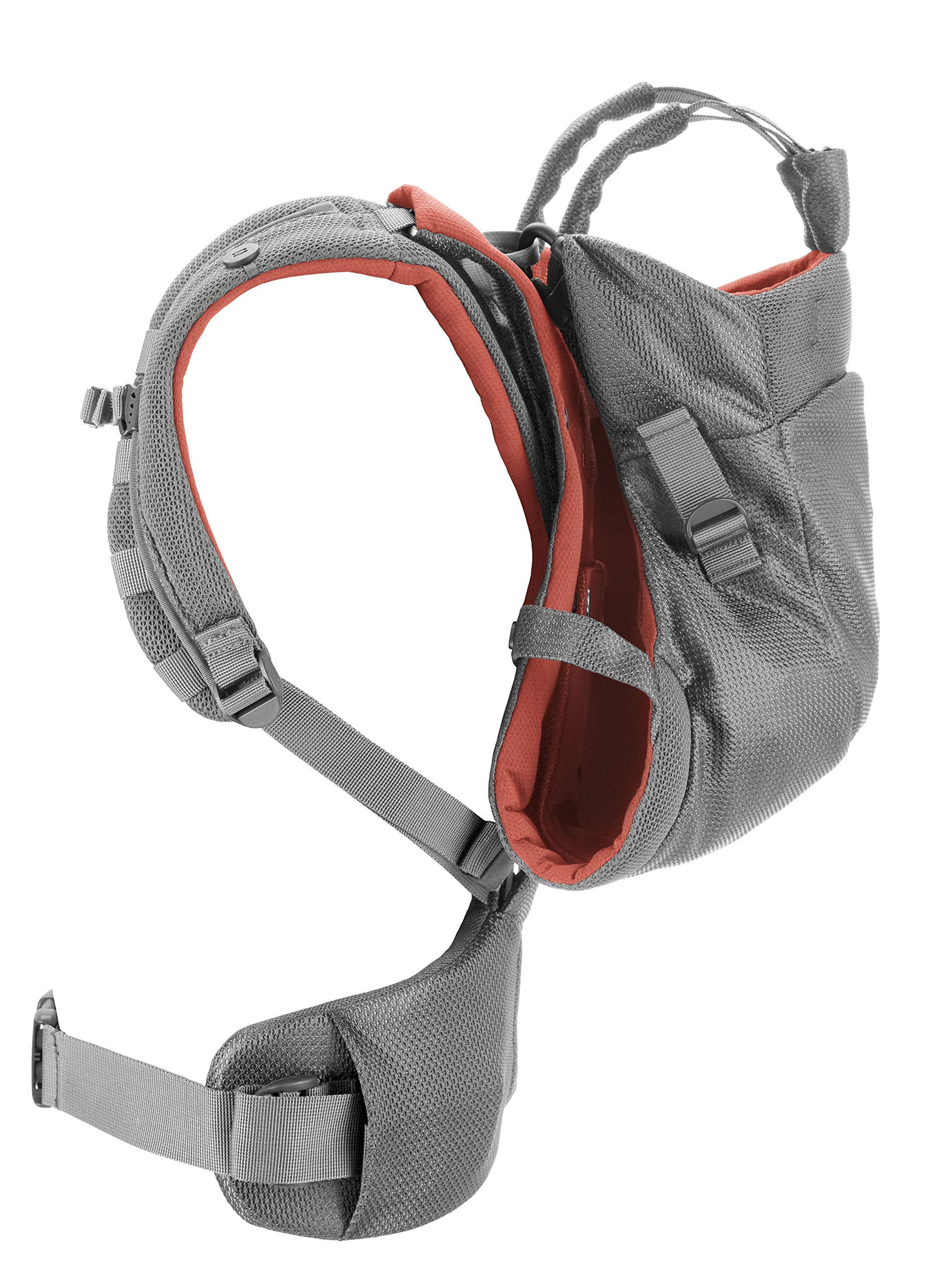 Stokke MyCarrier Back Carrier - Baby Carrier for Toddlers - Accessories for 3 in 1 Organic Cotton Carrying System - Ultralight & Ergonomic - Color: Coral Mesh Stokke With the MyCarrier wrap newborns feel sheltered when being close to the parents. From 9 months onwards the world can be discovered comfortably with the supplementary back carrier Research confirms that babies are much calmer and cry less when they feel the body heat and movements of their parents - the STOKKE MyCarrier provides this safe and secure feeling The 3 in 1 baby carrier allows three different carrying positions - on the stomach, either facing the parent or outwards and on the back with the back carrier suitable from 9 months 3