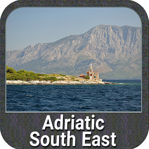 Adriatic Sea South East GPS Map Navigator