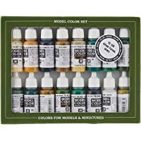 Vallejo val899 Peinture Model Color WWII Alliés de peinture acrylique – couleurs assorties (Lot de 16)