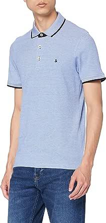 JACK & JONES Men's Jjepaulos Polo Ss Noos Shirt