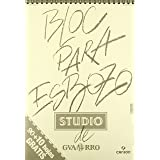 GUARRO 5601 - Bloc de dibujo, 100 hojas, A3, Multicolor