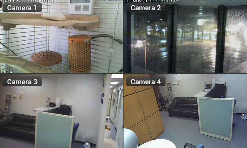 Viewer for Swann IP cameras
