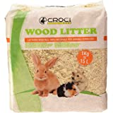 Croci R4AS0000 Wood Litter - Yacija Natural para Animales Domesticos, 1 kg
