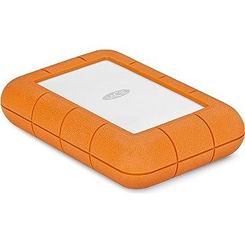 LaCie Rugged Raid Pro–HDD de 4to, Couleur Orange