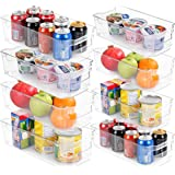 Utopia Home Set of 8 Pantry Organizers-Includes 8 Organizers (4 Large & 4 Small Drawers)-Organizers for Freezers, Kitchen Cou