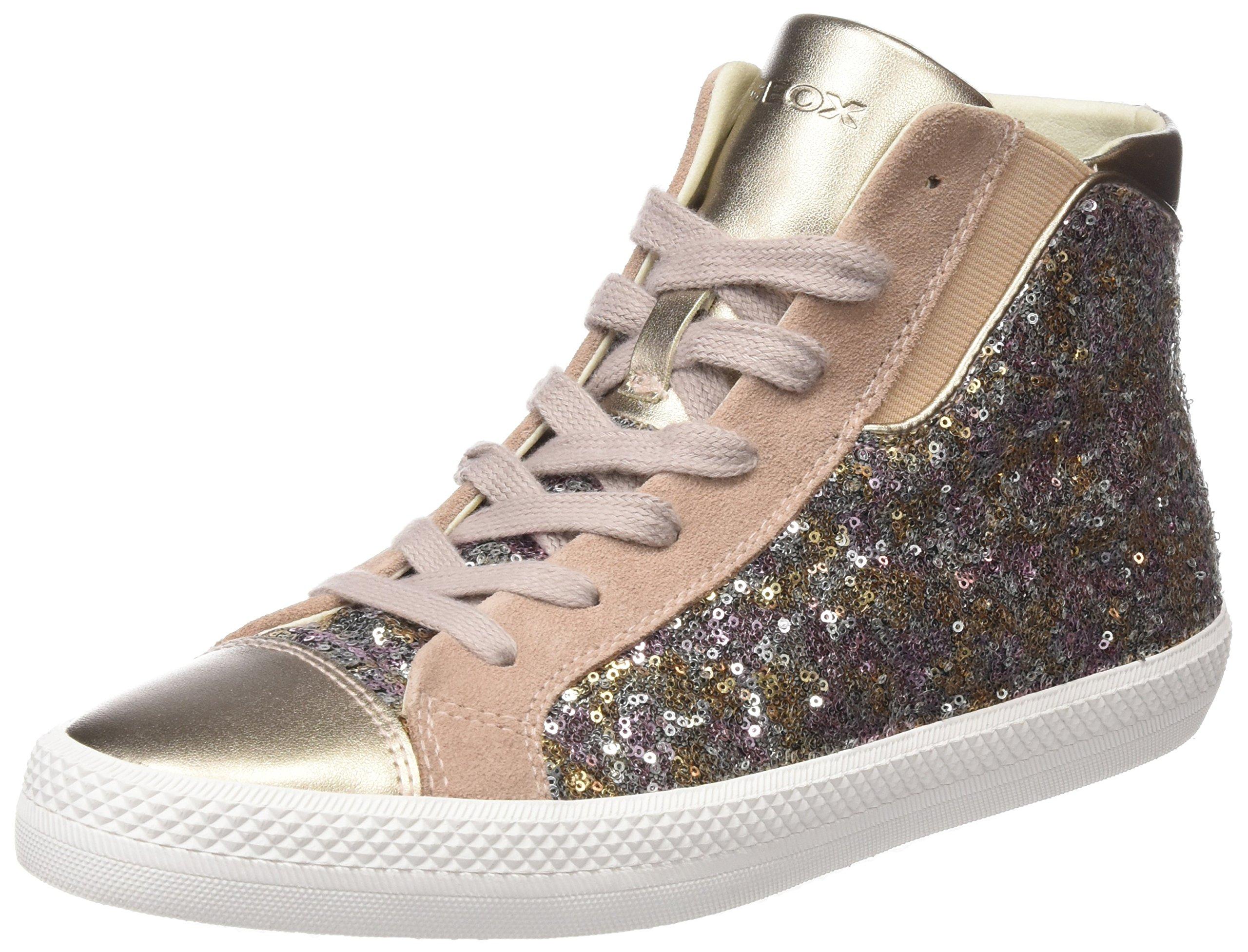 Geox Damen D Giyo A Hohe Sneaker 1