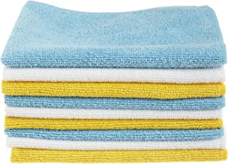 AmazonBasics Microfiber Cleaning Cloth - 222 GSM (Pack of 36)