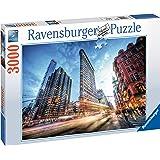 Ravensburger- Puzzle 3000 pièces Flat Iron Building, New York Adulte, 4005556170753