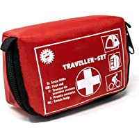 Selldorado® 32-teiliges Erste-Hilfe-Set Traveller - Notfallkoffer ideal für Outdoor, Fahrrad Camping, Reisen, Sport…