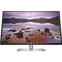 HP 32s Monitor, Schermo 32 Pollici IPS Full HD, Risoluzione 1920 x 1080, Micro-Edge, Antiriflesso, Tempo di Risposta 5 ms, Comandi sullo Schermo, HDMI e VGA, Reclinabile, Nero