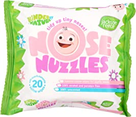 Jackson Reece Nose Nuzzle Wipes, 10 Years (20 Count)