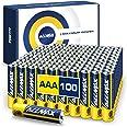 Allmax AAA Maximum Power Alkaline Batteries (100 Count Bulk Pack) – Ultra Long-Lasting LR03 Battery, 10-Year Shelf Life, Leak