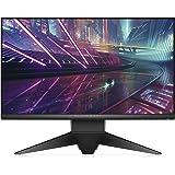 """Alienware AW2518HF 24.5"""" Full HD TN Mat Noir, Argent Plat écran Plat de PC - Écrans Plats de PC (62,2 cm (24.5""""), 1920 x 1080 Pixels, LCD, 1 ms, 400 CD/m², Noir, Argent)"""