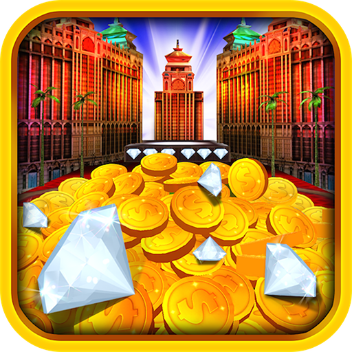 Diamond Dozer Coin Pusher - FREE Daily Cash Machines Game