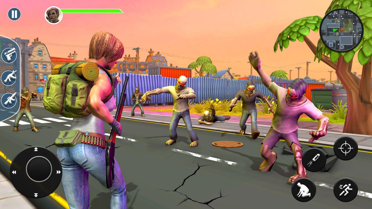 Zombie überlebens Spiele