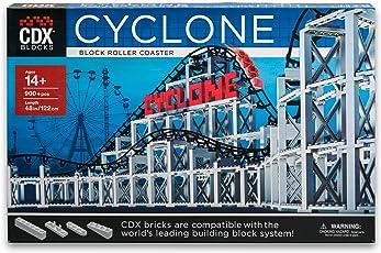 CDX Blocks Cyclone Roller Coaster Building Block System
