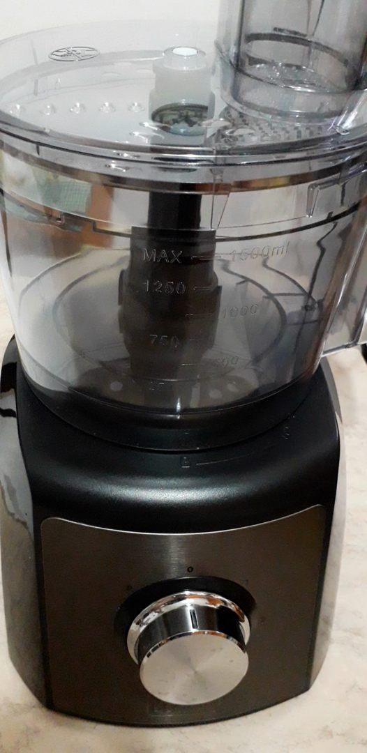 Black+Decker BXFPA1200E Procesador de alimentos, 1200 W, Acero ...