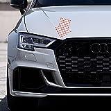Folientechnik Bayer 1055 Accentstrips voor Audi A3 S3 RS3 8V Tuning (Zwart)