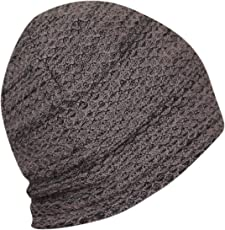 FabSeasons WC69 Wool Skull Cap for Winter, Free Size (Brown)