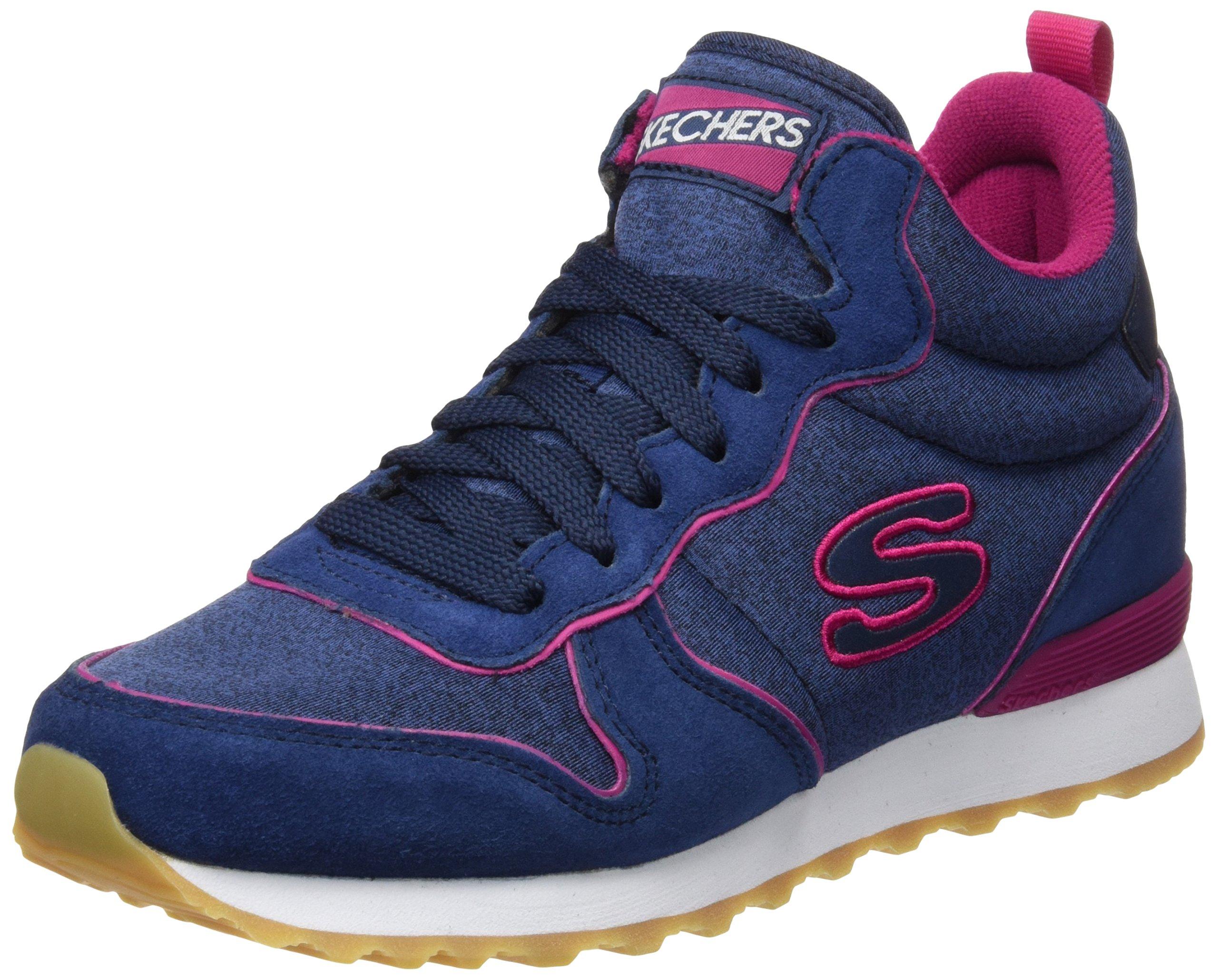 e269c0912caa2 Zapatillas deportivas de mujer Cuplé de piel metalizada
