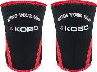 Kobo Power Weight Lifting Knee Sleeves / Knee Wraps Bandages 7 mm Neoprene (Imported)