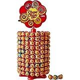 Chupa Chups Carrousel, Best of Lollipops Wheel – 200 lolly's, 7 verschillende fruitige en romige smaken, snoepdisplay voor fe