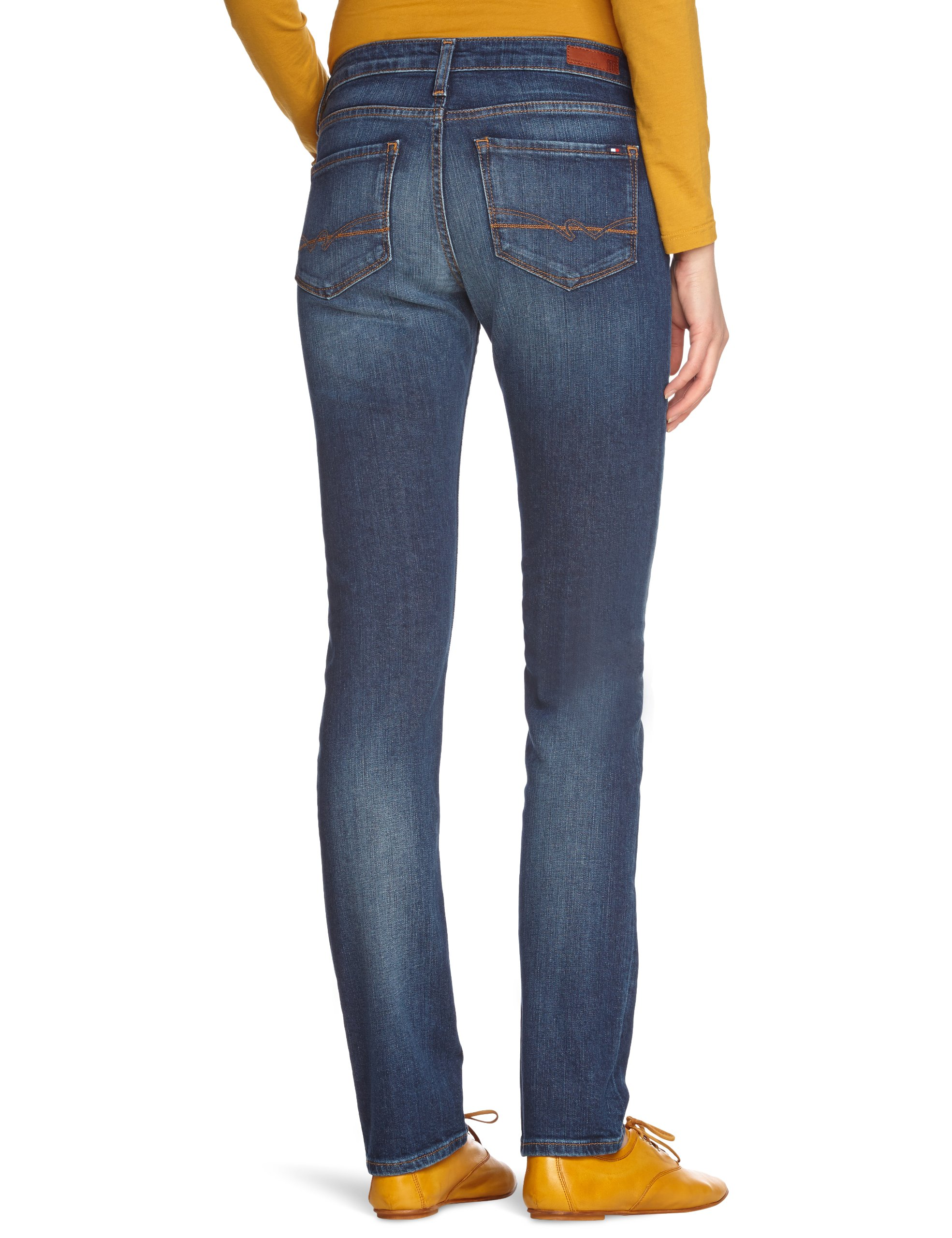 Tommy Hilfiger Rome Sll Absolute Blue Vaqueros para Mujer