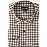 Men's Dress Shirt Long Sleeve Classic Regular Fit Button Down Collar