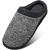 Mishansha Pantofole da Casa da Uomo Donna Memory Foam Pantofole Invernali Morbide e Calde Slippers