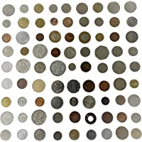 Novelty Collections 81 World Coins-Minimum 30 Countries (All Different)