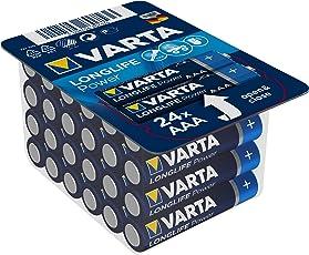 Varta Longlife Power/High Energy Batterie AAA Micro Alkaline Batterien LR03 24er Pack (Design/Produktname kann abweichen)