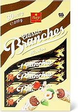 Frey Branches Bicolor, Riegel aus feiner dunkler und weißer Milchschokolade garniert mit Nusssplittern, 810 g