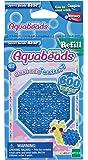 Aquabeads 32708 Glitzerperlen Bastelperlen nachfüllen blau