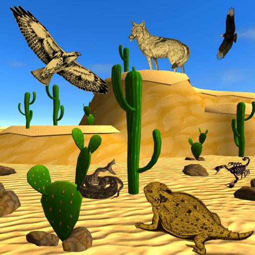 Desert Creatures Discovery For Preschoolers -