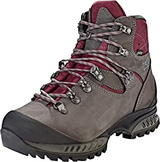 Outdoor-Bekleidung Hanwag Gritstone II GTX Shoes Women asphalt/dark garnet 2019 Schuhe grau schwarz