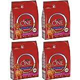 Purina OneMedium/Maxi Crocchette per Cani Adulti Medium/Maxi >10kg, Ricco in Manzo con Riso, 4 Sacchi da 2.5 kg Ciascuno