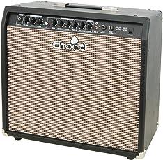 Chord CG-Series 30cm (12 Zoll) Kompakt E-Gitarrenverstärker (Effekt-Eingang, Onboard-Reverb, Aux-In) 60 Watt