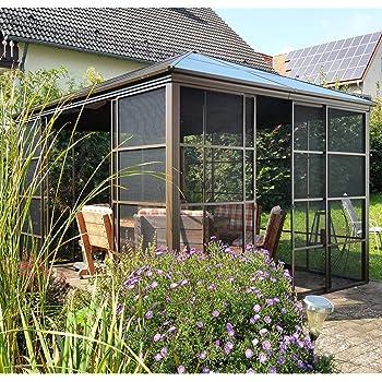 Amazon.de: Sojag Aluminium Pavillon, Gartenlaube
