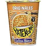 Gallina Blanca - Yatekomo Pollo - Fideos orientales - 60 g - [confezione da 8]