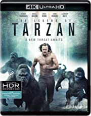 The Legend of Tarzan (4K UHD & HD)