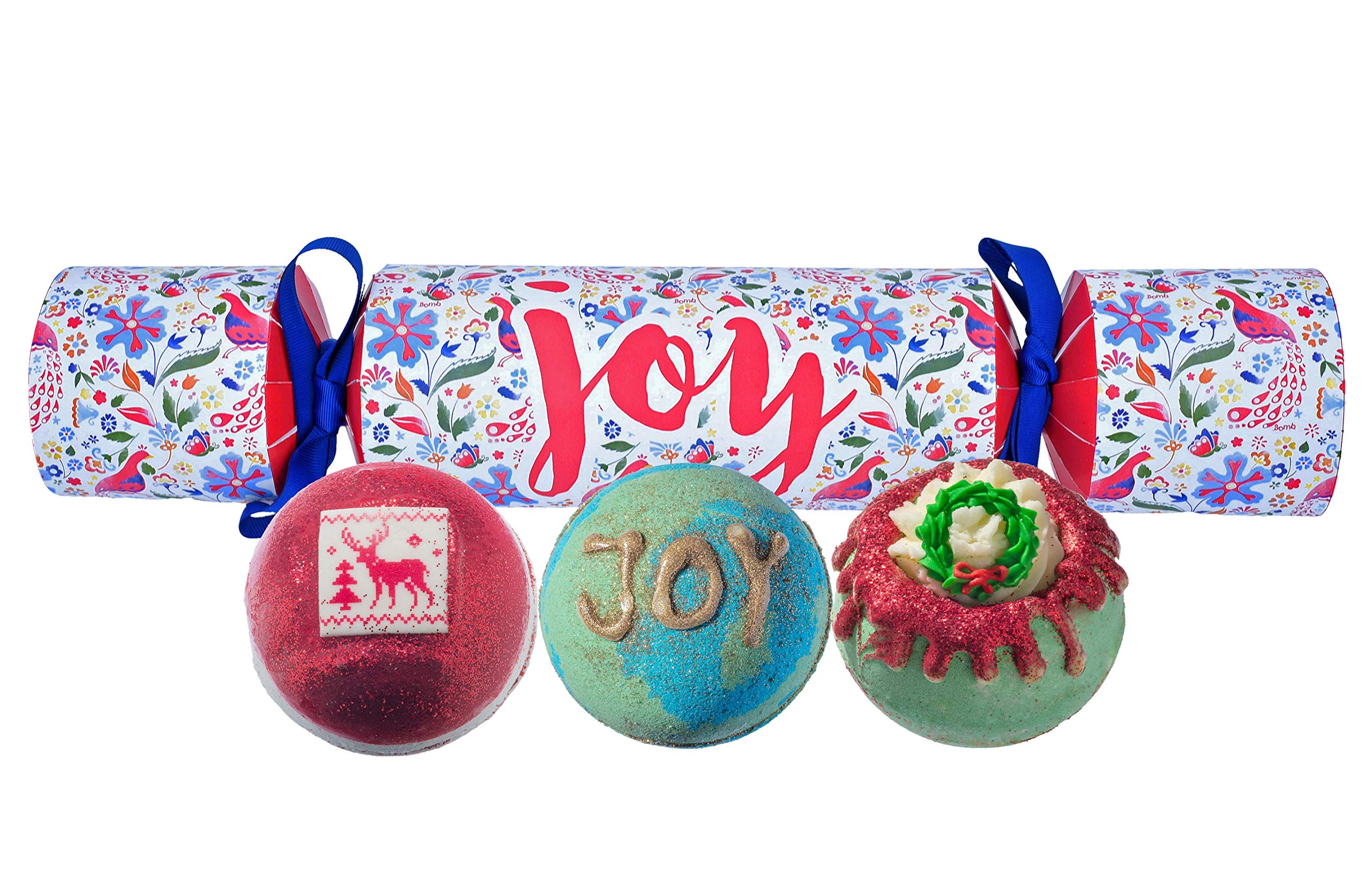 Bomb Cosmetics Joy Cracker Handmade Gift Pack