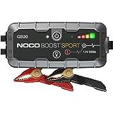 NOCO Boost Pro GB20: UltraSafe 12V 500A Arrancador, Bateria Booster, y Cables de Arranque para Motores de Gasolina de hasta 4