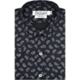 Arihant GHPC Printed 100% Cotton Half Sleeves Regular Fit Formal Shirt for Men