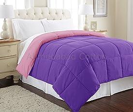 Ahmedabad Cotton Ultra Plush Reversible Microfibre Comforter / Duvet - 200 GSM