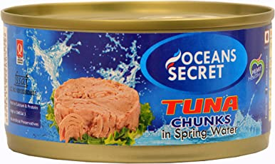 Oceans Secret Canned Tuna in Spring Water, 180g